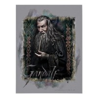 Gandalf With name Print