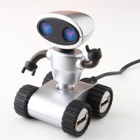 Wall E Design 4 Ports USB Robot