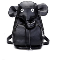 Sweet Elephant Travel PU Backpack