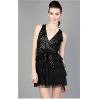 D12497A Black Sequin Tutu Skirt Bottom Party Dress and Womens Fashion Clothing  Shoes - Make Me Chic