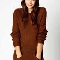 Betsy Hooded Bear Jumper at boohoo.com