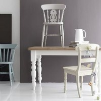 Farmhouse tables Classic English Country chairs