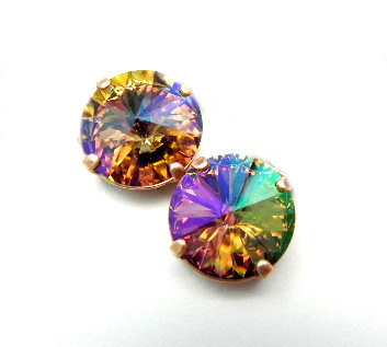 Autumn Evening Swarovski Special FX Iridescent by BreatheCouture