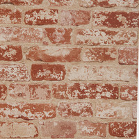 Brick Trompe LOeil Wallpaper