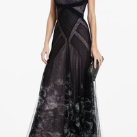 BCBGMAXAZRIA - DRESSES: EVENING: JOAN STRAPLESS LONG DRESS