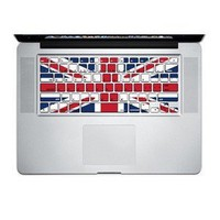Uk Flag Keyboard Sticker Mac Decal Mac Book Pro 13 Inch: Computers &amp; Accessories