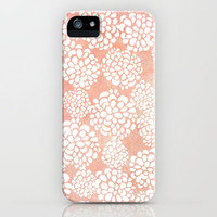 Pink Dahlias iPhone Case by Joy Laforme | Society6