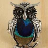 Branch Owl Ring
