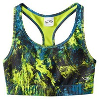 C9 by Champion® Women's Reversible Racerback Bra - Pansy Purple Print