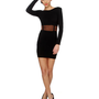Motel Estelle Dress - Black Dress - Glitter Dress - &amp;#36;79.00