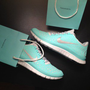 Nike Free Run 3.0 V4 RARE TIFF BLUE TROPICAL TWIST Running Shoes