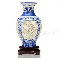 Hollow Vase Display [UF-PV072] - $75.00 : Buy Unique Craft Gifts From Best Online Shop, Ufingo