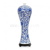 Blue and White Porcelain Beauty Vase [UF-PV073] - $74.00 : Buy Unique Craft Gifts From Best Online Shop, Ufingo