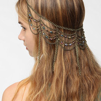 Urban Outfitters - Draped Chain Halo Headwrap
