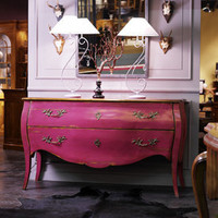 Pink Bailey Bombe Chest - Sweetpea &amp; Willow London