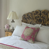 Gold Gilt Emmanuel Headboard - Sweetpea & Willow London
