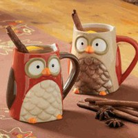 Owl Mugs