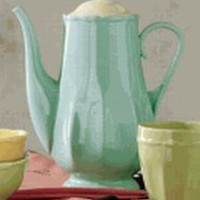 Bistro Fluted Teapot by TAG