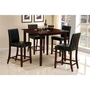 Mina Square Counter Height Dining Set (Table and 4 Chairs) - Acme Furniture | Dining sets