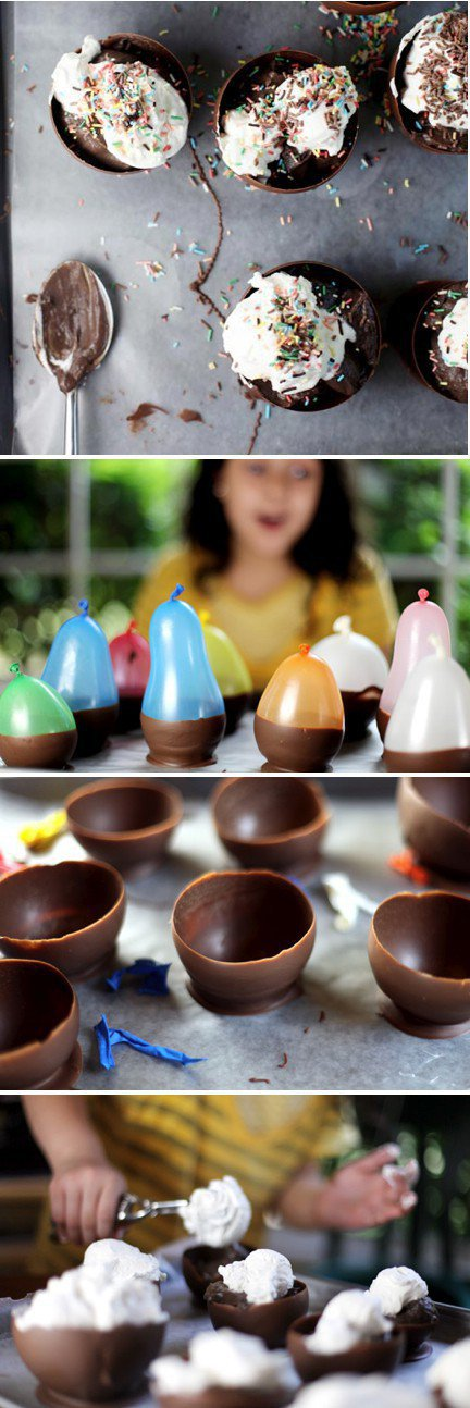 How to make Chocolate bowls