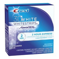 Crest 3d White 2-Hour Express Teeth Whitening Strips 4 Count