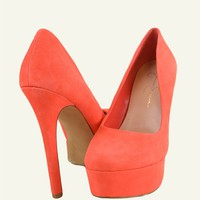 Jessica Simpson waleo spiced coral