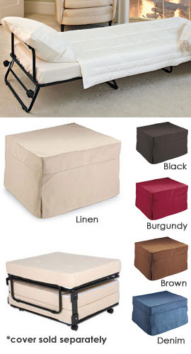 Fold Out Ottoman Bed Folding Bed Ottoman From Solutions My