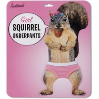 Accoutrements Girl Squirrel Underpants