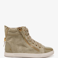 Zippered Patent Sneakers | FOREVER21 - 2044426526