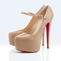 Christin Louboutin Lady Daf 160mm Pumps beige - &amp;#36;186