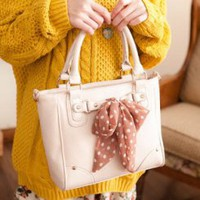 Wholesale Chic personalized handbags with scarves decoration TW-2505M - Lovely Fashion