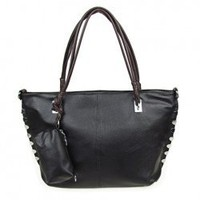 New Arrival Korean Style Special Hem and Zipper Design One-Shoulder Bag For Female  - Sammydress.com
