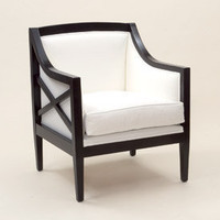 Cross Me Armchair - Sweetpea & Willow London