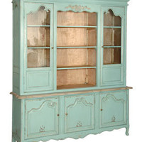 Aqua Marine Large Cabinet/Shelf unit - Sweetpea & Willow London