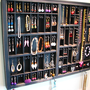 Printers Typeset Tray Jewelry Display with by BlackForestCottage