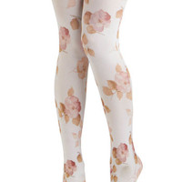Pastel Pedals Tights | Mod Retro Vintage Tights