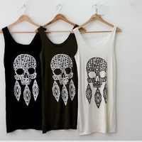 Cotton Skull Dress/Top