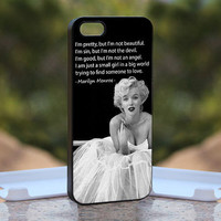 Marilyn Monroe Pretty Quote MQL0139  Design by monggoditumbas