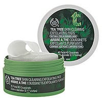 Sephora: The Body Shop Tea Tree Skin Clearing Exfoliating Pads: Acne/Blemish Control