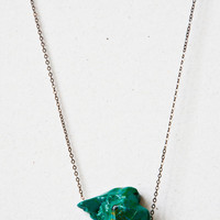 30 Chrysocolla Chrysoprase Necklace by Desertribe on Etsy