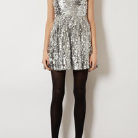 Sequin Skater Dress - Dresses & Rompers - Sale  - Sale & Offers