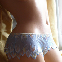 Mystical Firebird Thong Made to Order in Any Size by LoLeviLa