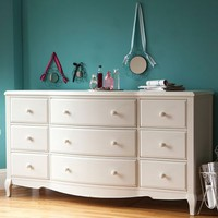 Lilac 9-Drawer Dresser