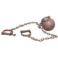 1STDIBS.COM - Vintage a la Mode  - Alcatraz prison ball with leg shackles (ball  chain)