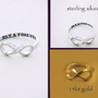 NOW & FOREVER Infinity Ring exclusively by by donnaOdesigns