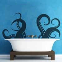 Amazon.com: Vinyl Wall Decal Sticker Tentacle OS_MB316: Home &amp; Kitchen