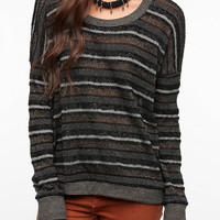 Alternative Lavern Metallic Stripe Sweater