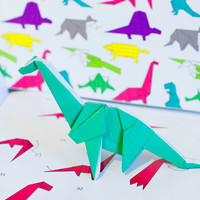 Dinosaur Origami Set - 6.00 : FinestImaginary, Jewellery, accessories, fashion & gifts