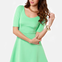 Month of Sundaes Mint Green Dress