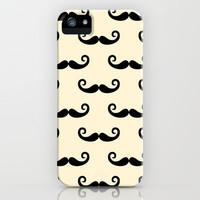 Mustaches for Z iPhone Case by virginia odien | Society6